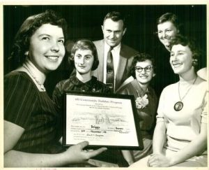 Brown County Service Award 1958