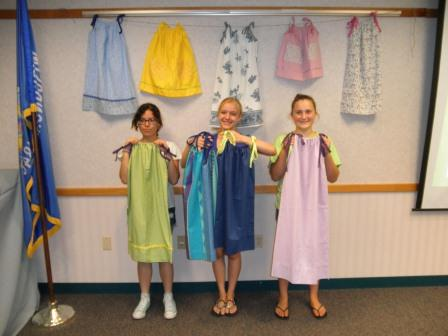 Pillowcase Dresses For Africa Impressive Service Project In Manitowoc County Sends Little Dresses To Africa