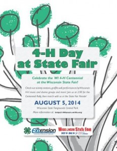 4-H Day at WI State Fair_flyer_8.5 x 11