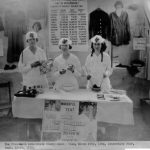 Clothes Dyeing demonstration team, c. 1919