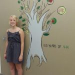 Lincoln County 4-H mural and artist