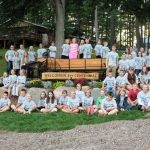 4-H Centennial Flowerbed at Rosholt Fair Park