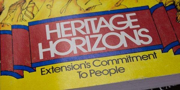 Heritage Horizons publication