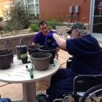 image two men gardening