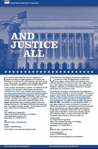 blue and justice for all poster