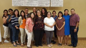 Group photo of members of Latinx Employee Resource Group