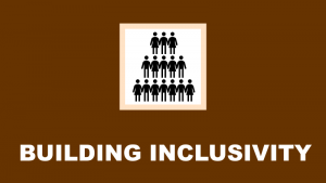 building inclusivity header and link to inclusion resources