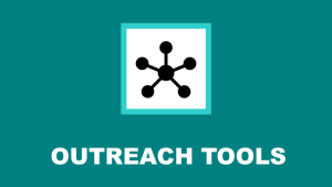 outreach tools icon and link