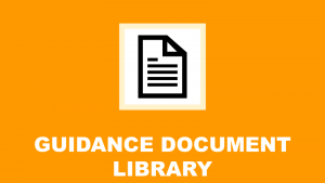 image and link to guidance document library