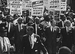 image from civil rights movement in 1960s