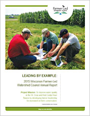 2015 Wisconsin Farmer-Led Watershed Council Annual Report PDF Download