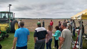 Farmers discuss No Till Equipment Options