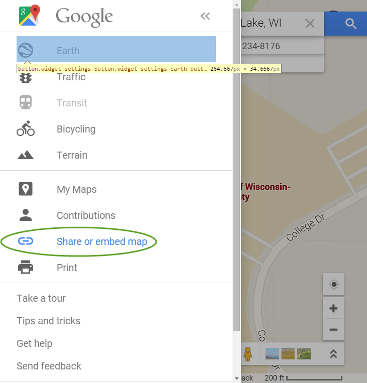 Embed a Google Map – WordPress Help on